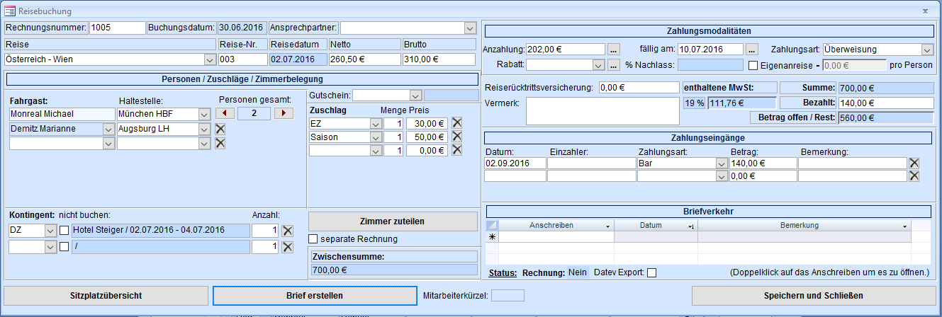 TravelManager Anleitung